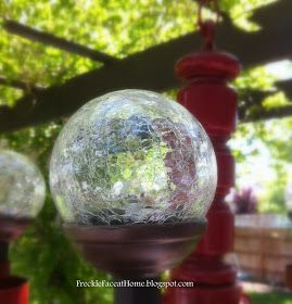 Freckle Face Girl: How to {Make a Solar Chandelier}: The Busy Momma's Guide