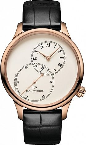 Jaquet Droz Grande Seconde Off-Centered Ivory Enamel