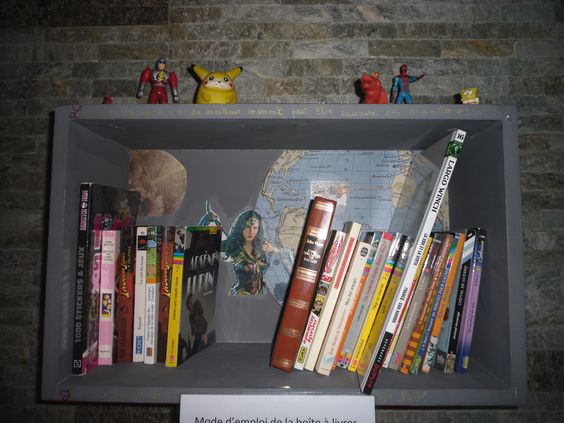Boîte à livres Quaregnon