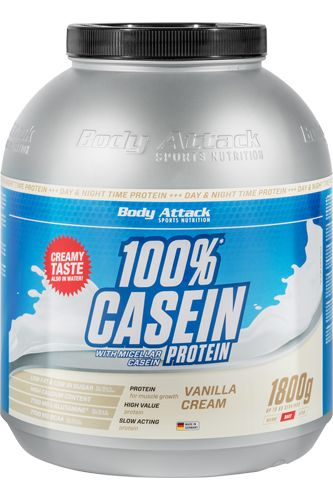 Body Attack 100% Casein Protein 1,8kg günstig | Natural-Fitness24
