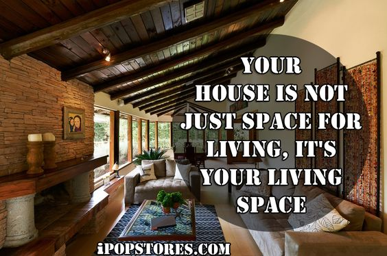 Your house is not just space for living, it's your living space. #furniture #furnishings #furnituredesign #furnituremakeover #furniturestore #interior #interiordesign #home #homedecor #homedesign #homedecorating #homedecorideas #design #decor #decorideas #layout #house #beautifulinteriors #dreamhome #decoraccents #decortips #designtips #shopping #shoppingonline #onlineshopping #ipopstores