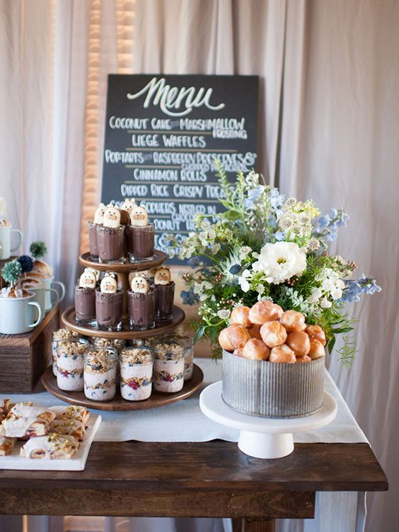 Spring baby shower food ideas