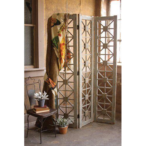Wooden Room Divider.