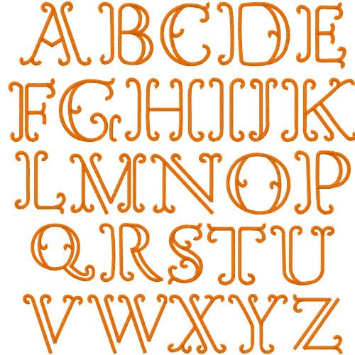 Best ideas about Hand Embroidery Letters, Embroidery Font and ...
