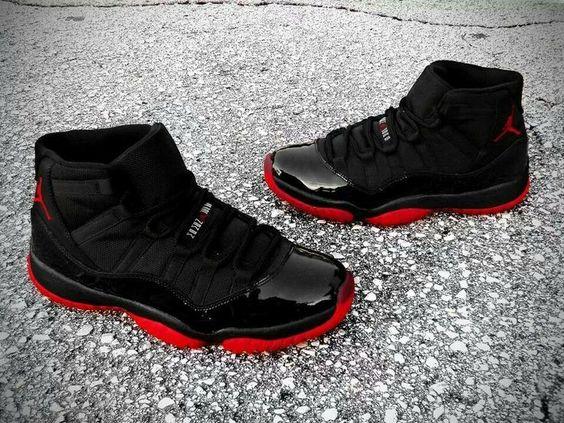 nike shox junga iii - Nike Air Jordan 11XI BredPlayoffs Shoes#Sneakers# | My Baby Swagg ...