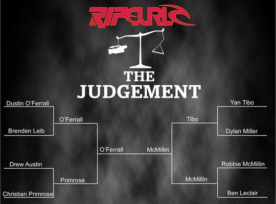 Watch the video, Vote O'ferrall  The Judgement, Rip Curl, Wake Canada
