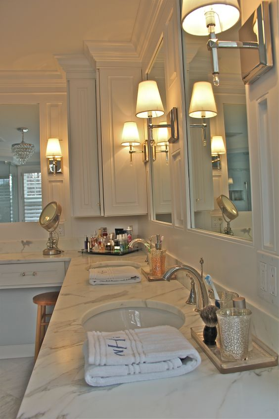 Vanity Lighting Ideas Tips : Bathroom Lighting Tips From Your CT Contractor! Fiderio & Sons Blog Pinterest Corner ...