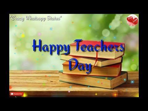 Happy Teacher S Day Wishes Lyrics Whatsapp Status Video Youtube In 2020 Happy Teachers Day Happy Teachers Day Wishes Teachers Day Wishes