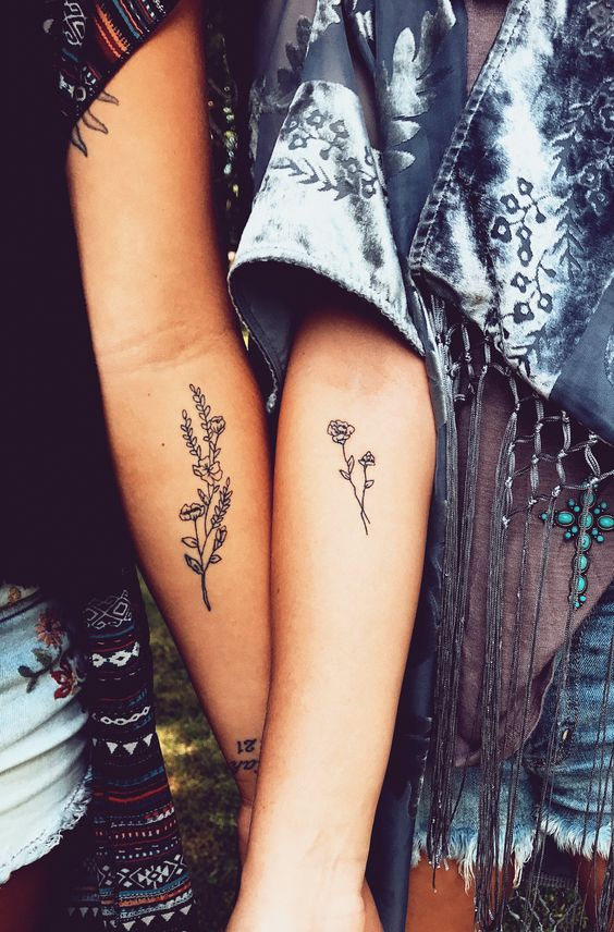 #tattoos #friends #tattoosideas #flowertattoos #style