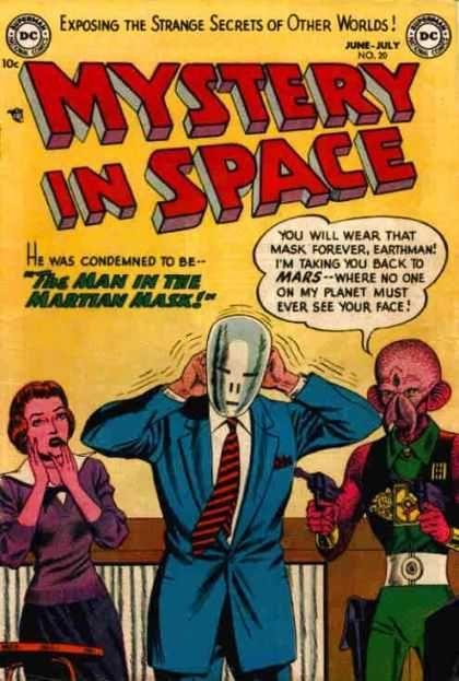 Martian - Mask - Alien - Woman - Gun