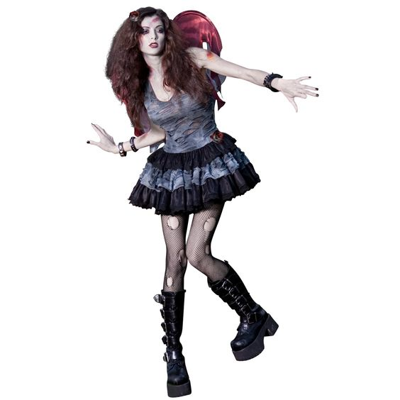 Zombie Fairy Adult Costume Halloween!! Pinterest Adult