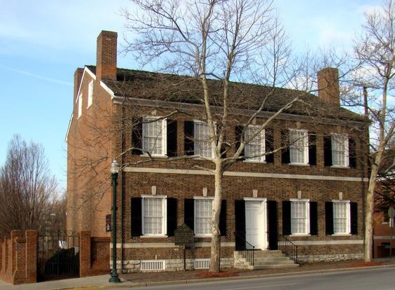Mary Todd Lincoln House, spouse of the great Abraham Lincoln. - Lexington, Kentucky
