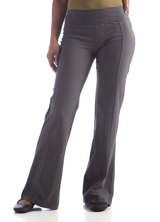 Organic Cotton Aspire Long Pants - Slate, $75