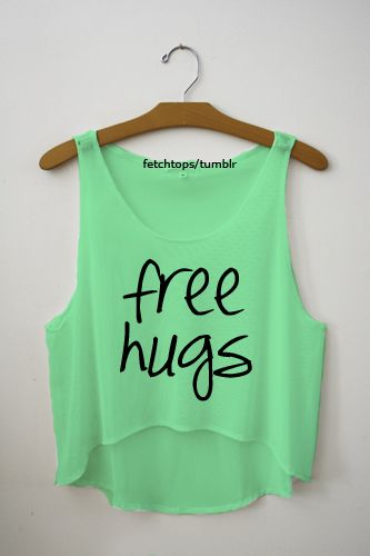 Wearing a free hugs top out toa disco tonight:L hopefully not many creeps, wish me luck!:D