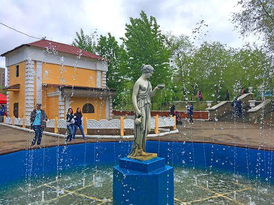 Фонтан в парке ОДОРА, г. Чита. Фото: Vladimir Shveda