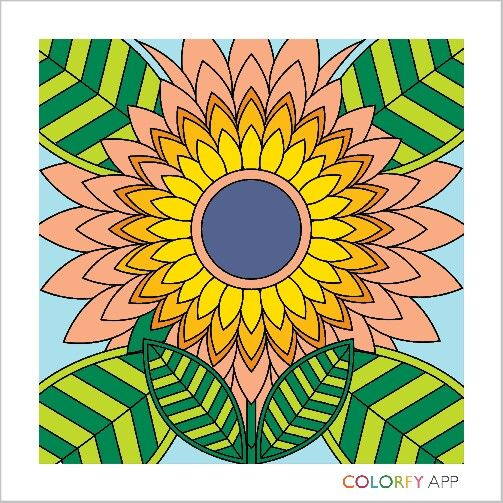 Use the app colorfy. Its awesome