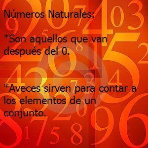 ¿Para qué sirven los números naturales?
