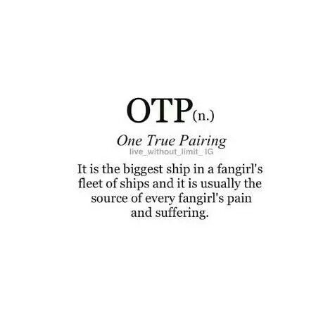 what does otp mean urban dictionary