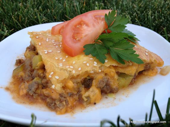 Cheese Burger Casserole. Kathie Cooks...: May 2012