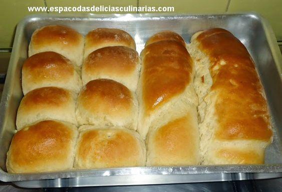 Pão caseiro salgado, feito na máquina de fazer pão - Espaço das delícias culinárias