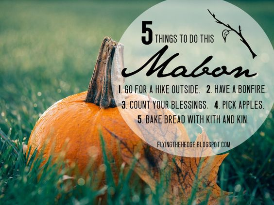 Flying the Hedge: 5 Things to Do This Mabon
