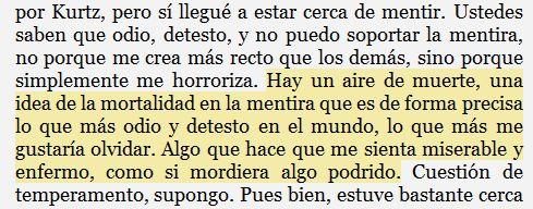 - El corazón de las tinieblas, Joseph Conrad