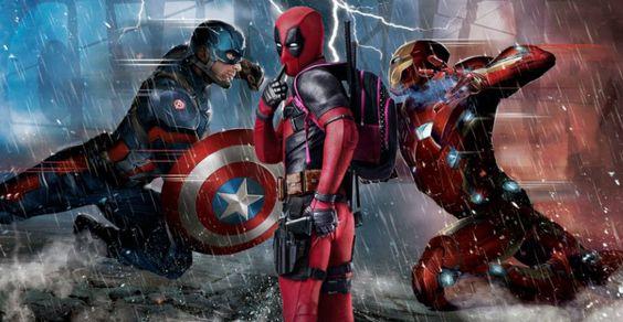 #Deadpool e #SpiderMan nello stesso film? Guardate questa versione di #CaptainAmericaCivilWar
