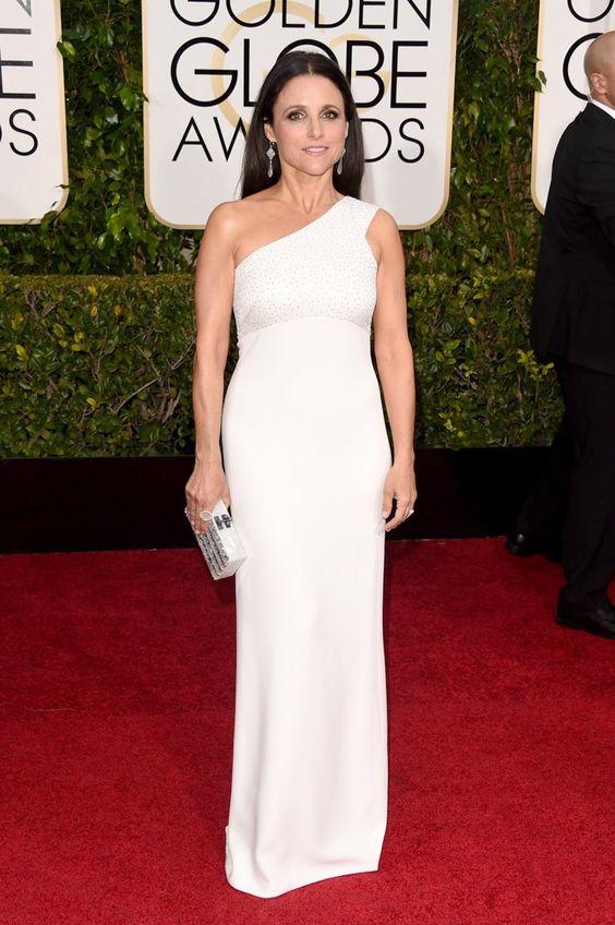 Pin for Later: Seht alle Stars auf dem roten Teppich bei den Golden Globes! Julia Louis-Dreyfus
