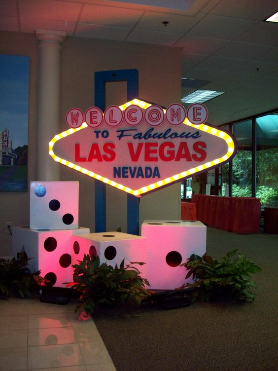 Throwing a Vegas party? - Find a great sign or get a custom sign @ Monte Carlo Productions - Atlanta www.mcpatl.com
