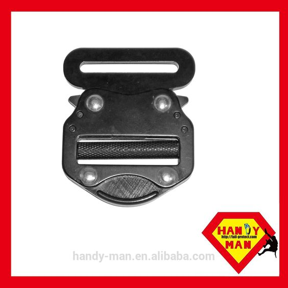 A832 Harness Aluminum Steel Side quick Release Safety Buckle