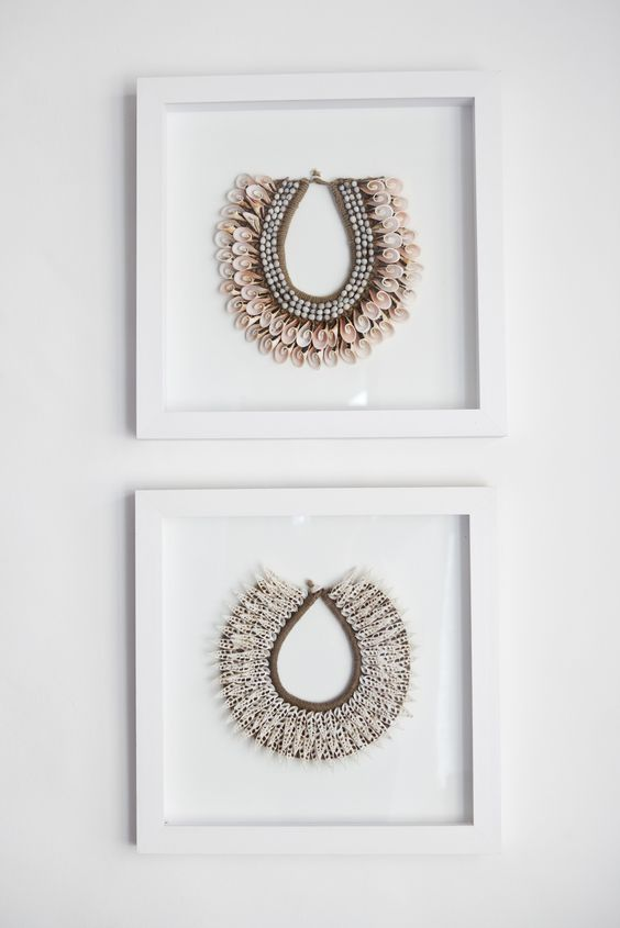 Ocean House, Morukuru, South Africa. African Necklaces.  #OceanHouse #DeHoop #SouthAfrica #necklace #Africa #decor #design