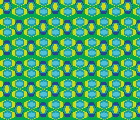 retro geo fabric by ruthnijsten on Spoonflower - custom fabric