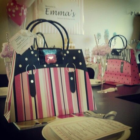 Emma 7th bday soiree gift bags