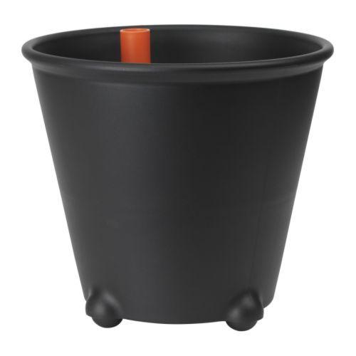 IKEA PS FEJÖ Selbstbewässerungstopf - schwarz - IKEA