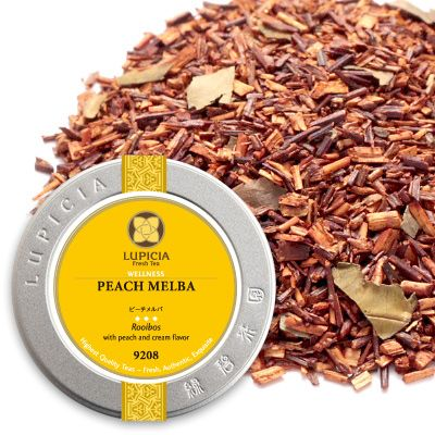 甘い香りに癒やされます♡ルピシアのルイボスティー「ピーチメルバ」