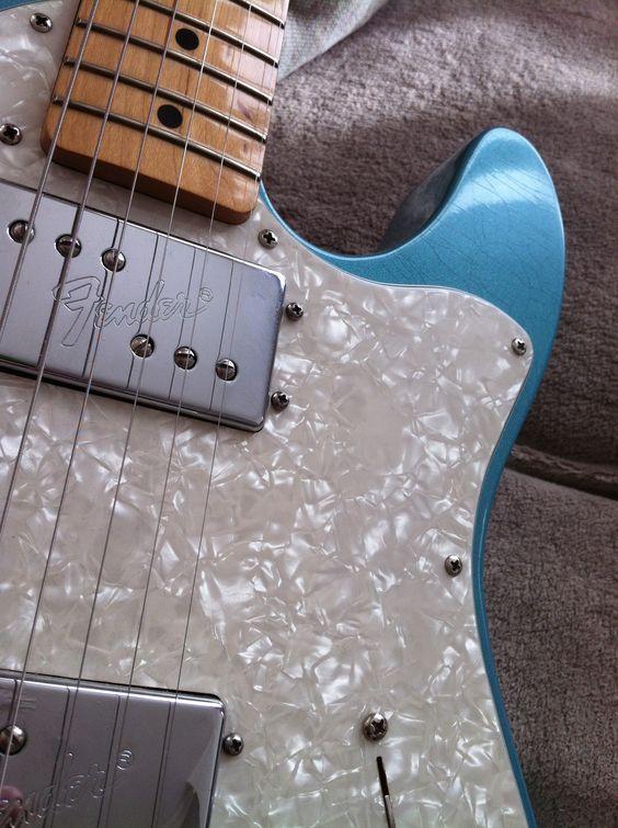Fender Thinline 72 Teal Green Metallic