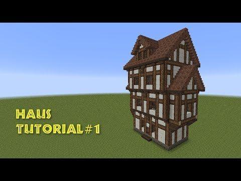 Minecraft Tutorial Kleines Haus Bauen 1 Youtube