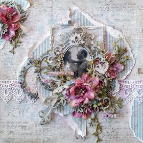 """Tina Marie - Forever and Always: """"Love"""" Dusty Attic Moodboard Creation for February"""