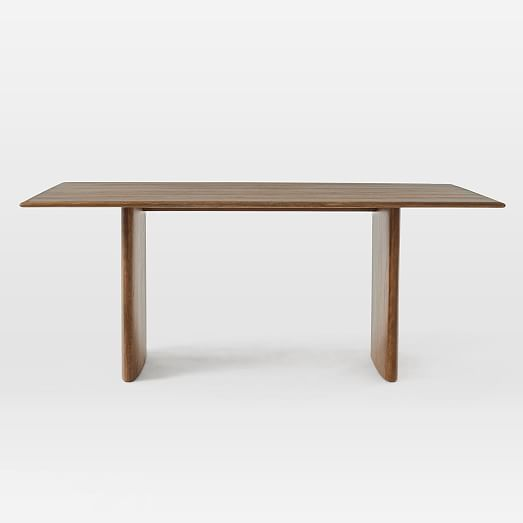 Anton Solid Wood Dining Table West Elm Dining Table Solid