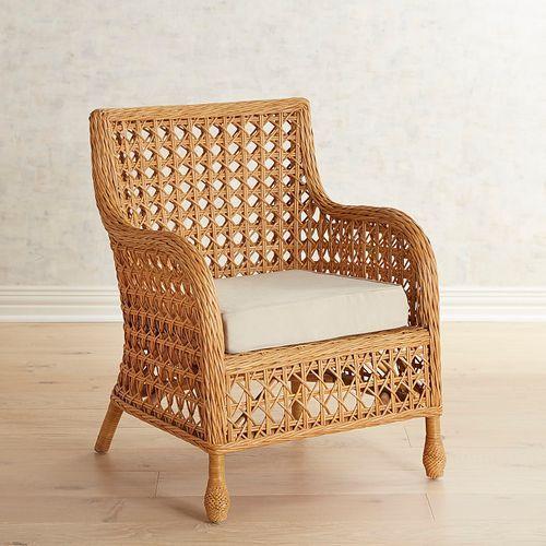 Rattan Furniture Rattan Armchair Upholstered Swivel Chairs