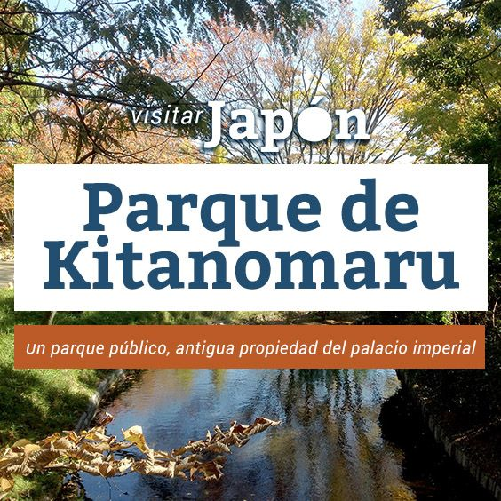 Hasta 1968, el parque de Kitanomaru formaba parte de los jardines del palacio imperial, pero actualmente es un parque público y uno de los sitios favoritos de los tokiotas para celebrar el Hanami.