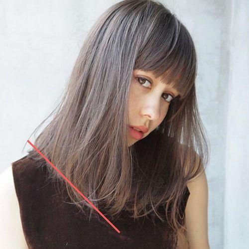 ミディアム 髪の量が多い人に似合う髪型 ヘアスタイル10選 ヘア