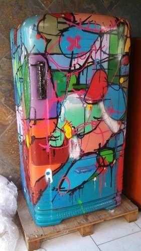 geladeira grafitada - Pesquisa Google