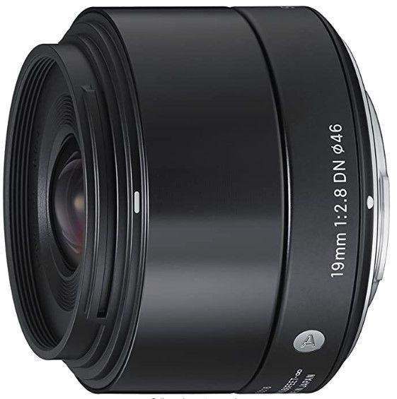 Sigma 19mm F 2 8 Dn Lens For Sony Nex E Mount Cameras Sony Nex Digital Camera Accessories Sigma Lenses