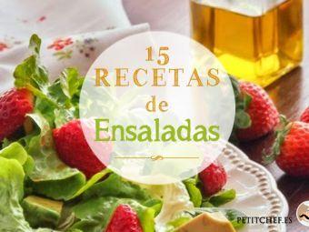 15 recetas de ensaladas