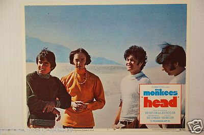 "The Monkees ""Head"" Original 1968 Lobby Card - #6     for sale - check the web site"