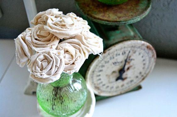 Muslin rose tutorial