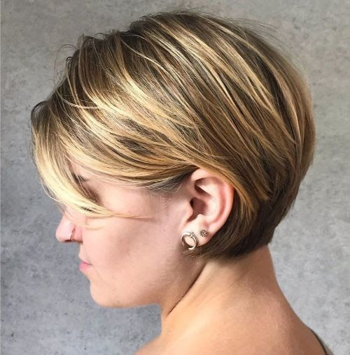 The 40 Best Short Hairstyles For Fine Hair Palau Oceans 15 Low Maintenance Haircuts For Every Te In 2020 Short Hair Styles Haircuts For Fine Hair Low Maintenance Hair
