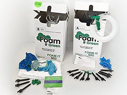 Foam It 602 Class 1 Spray Foam Insulation Kit Spray Foam Insulation Kits Spray Foam Diy Spray Foam Insulation