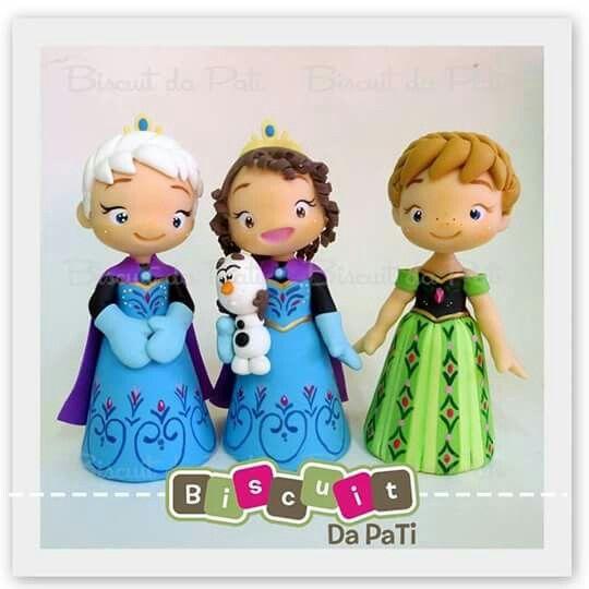 Princesas biscuit